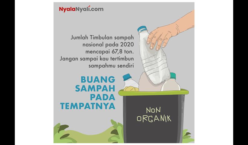 iklan layanan masyarakat buang sampah
