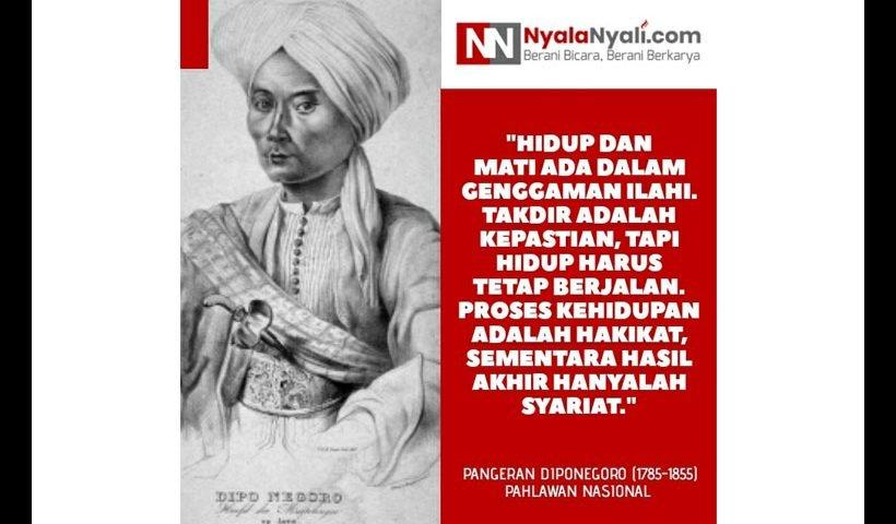 Kata Bijak Diponegoro