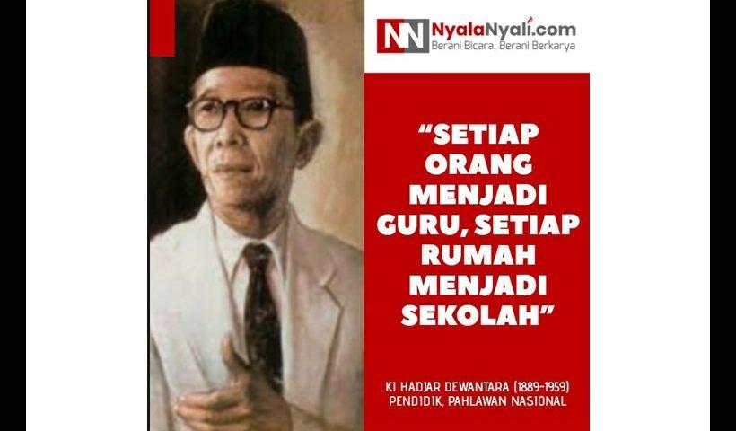 kata bijak Ki Hajar Dewantara