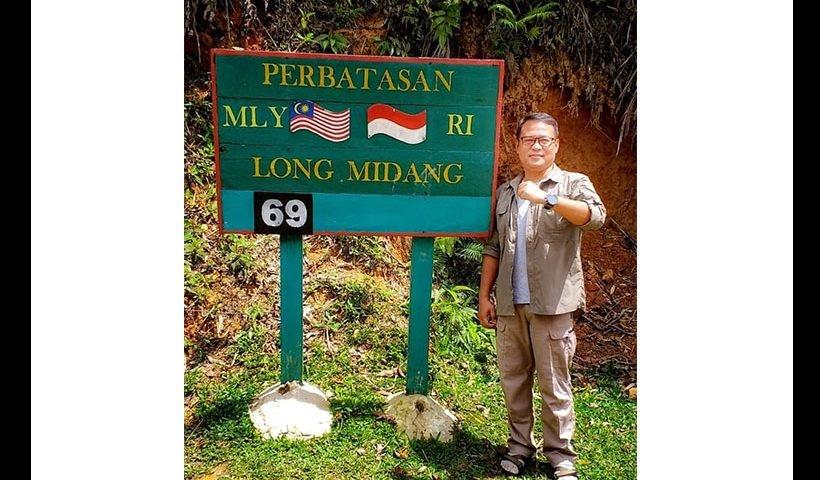 fauzan perbatasan indonesia malaysia